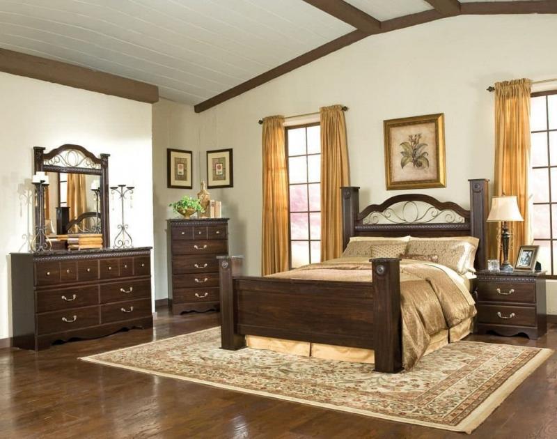 Шторы для спальни в классическом стиле 6