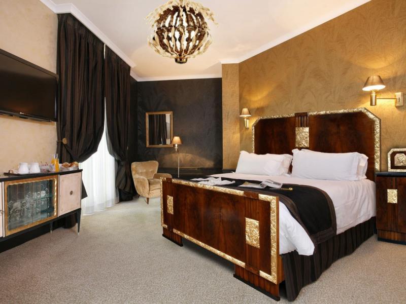 Шторы для спальни в стиле Арт-Деко 1
