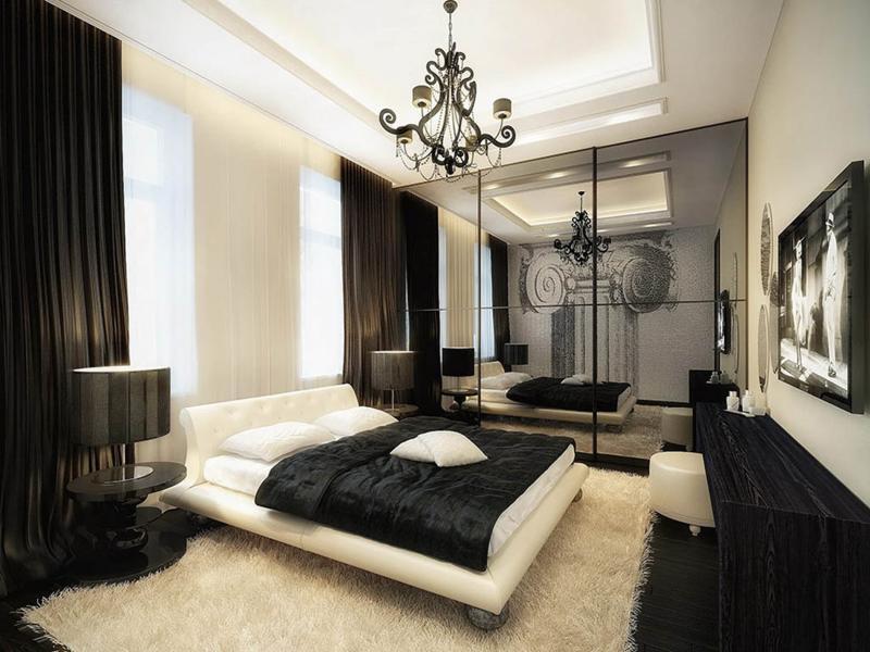 Шторы для спальни в стиле Арт-Деко 4