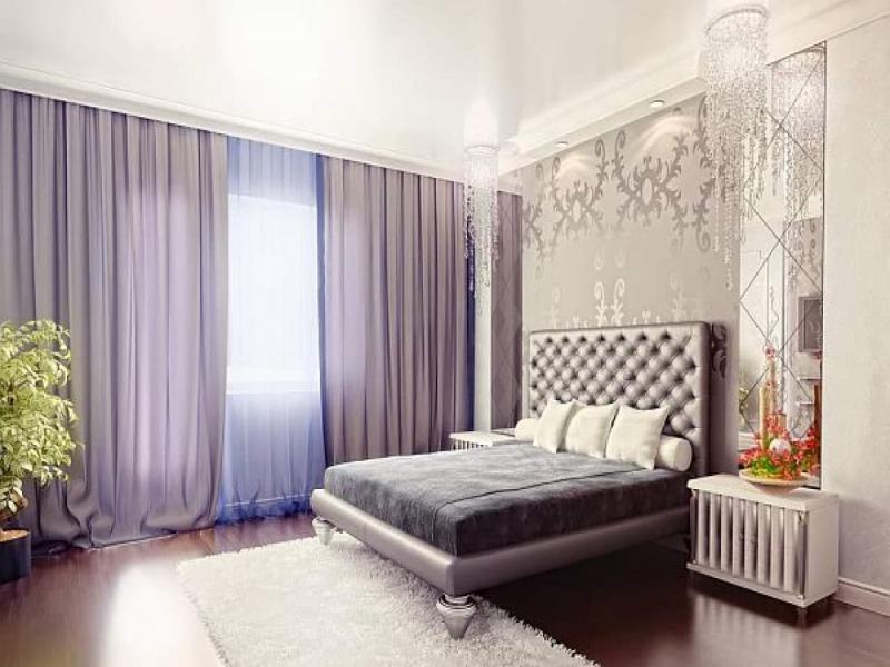 Шторы для спальни в стиле Арт-Деко 5