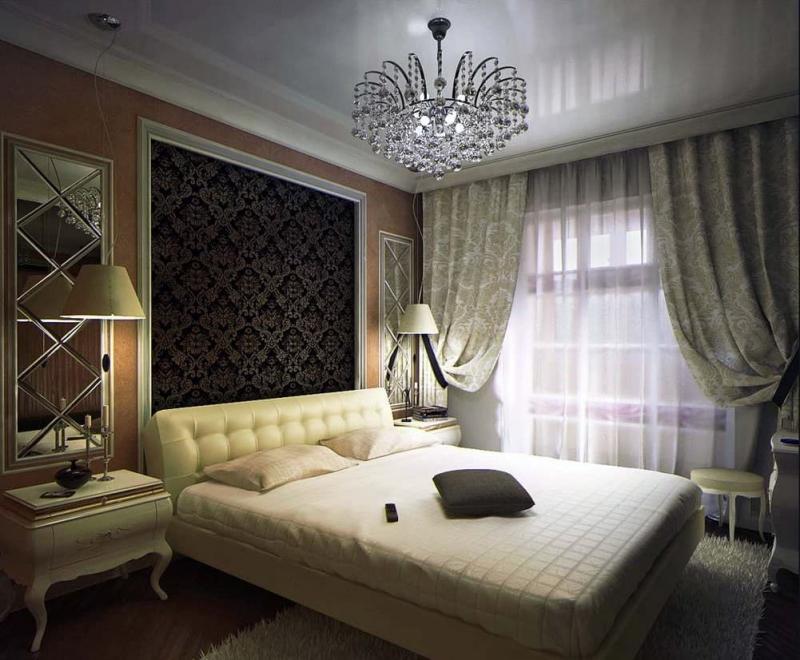 Шторы для спальни в стиле Арт-Деко 7