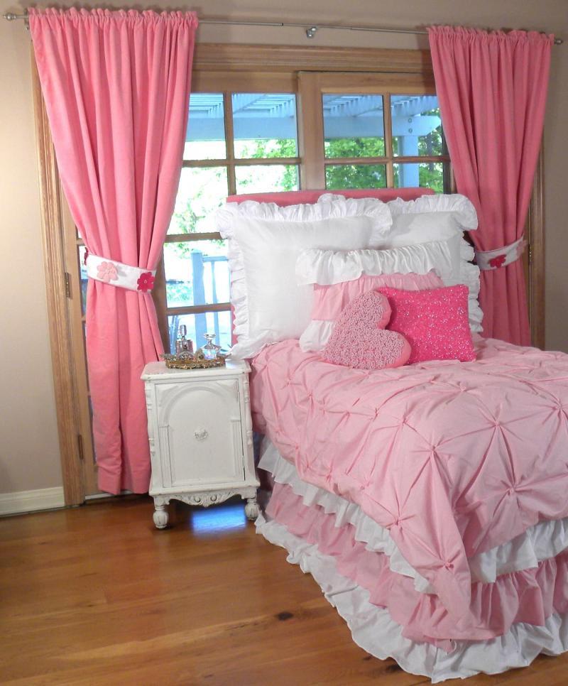 Шторы в спальню для девочки 2