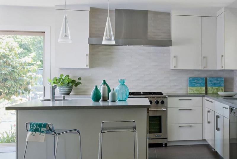 кухонные обои белая гамма 9 1