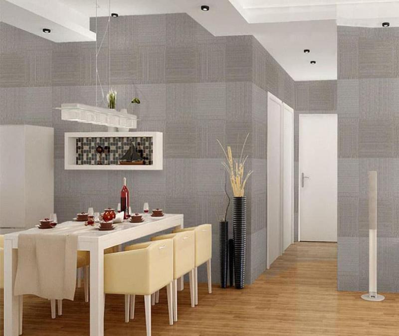 кухонные обои для кухни-студии 3
