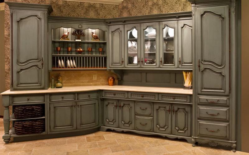 кухонные обои кантри 12