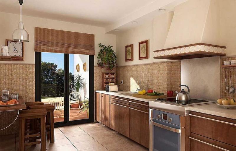 кухонные обои кантри 13 1