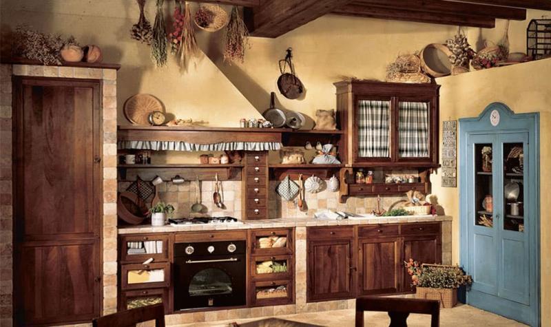 кухонные обои кантри 3 1