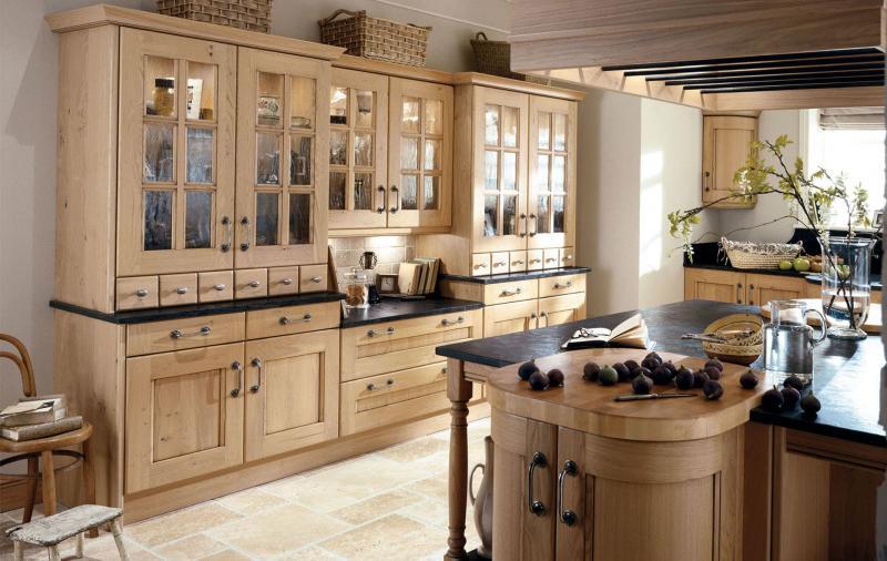 кухонные обои кантри 4