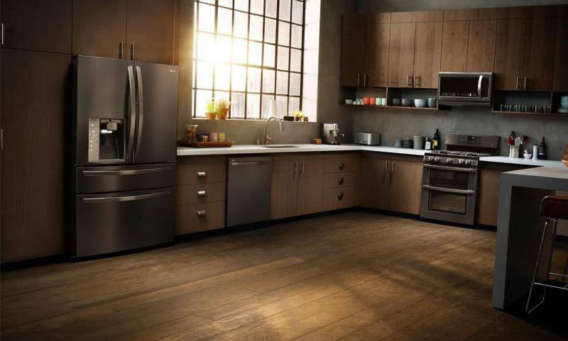 кухонные обои лофт 12