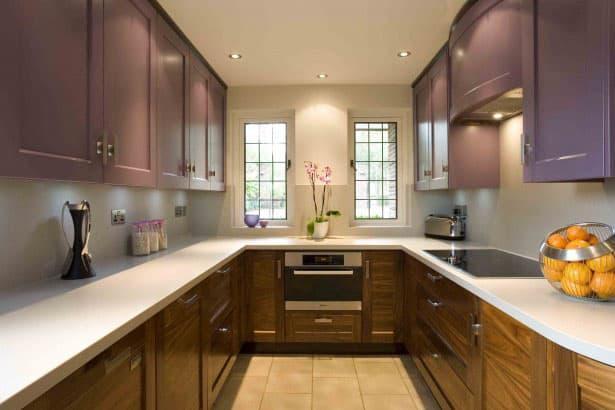 кухонные обои минимализм 12
