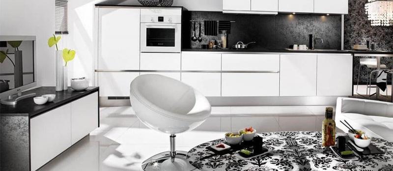 кухонные обои минимализм 16