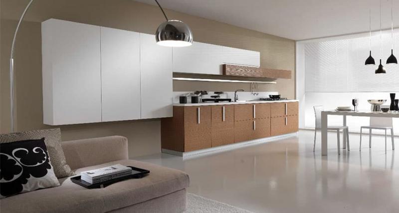 кухонные обои минимализм 1 1