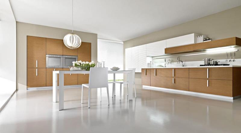 кухонные обои минимализм 3