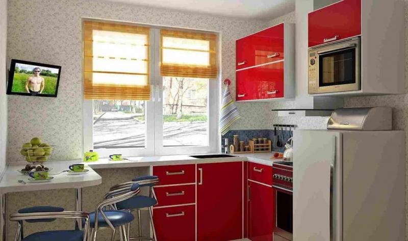 кухонные обои минимализм 7 1