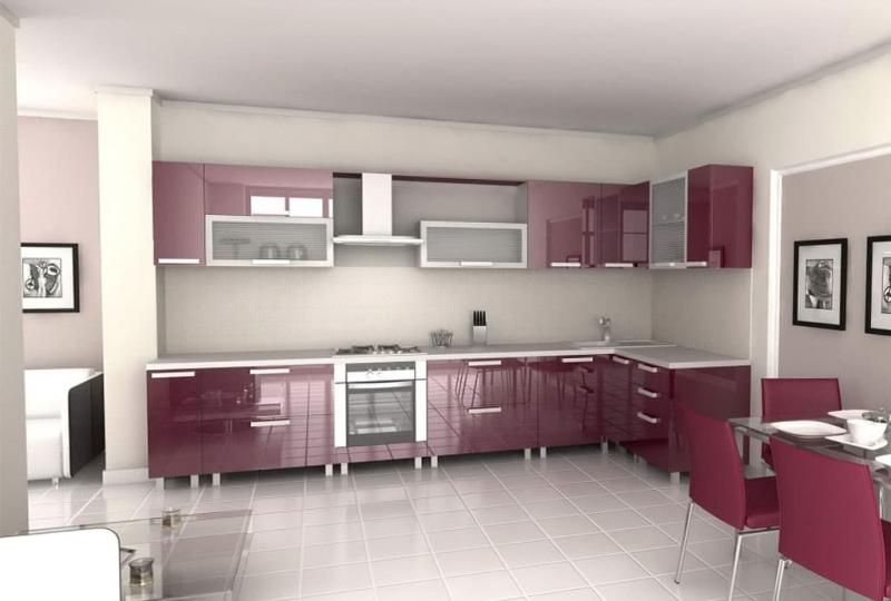 кухонные обои модерн 10 1