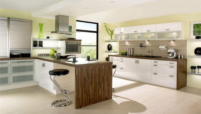кухонные обои модерн 2