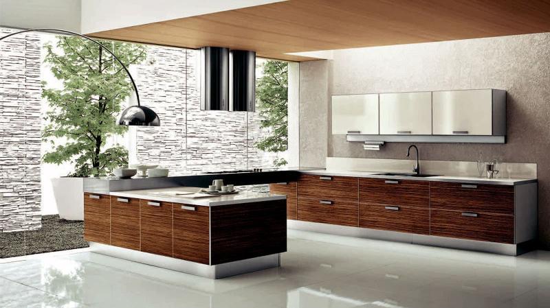 кухонные обои модерн 5