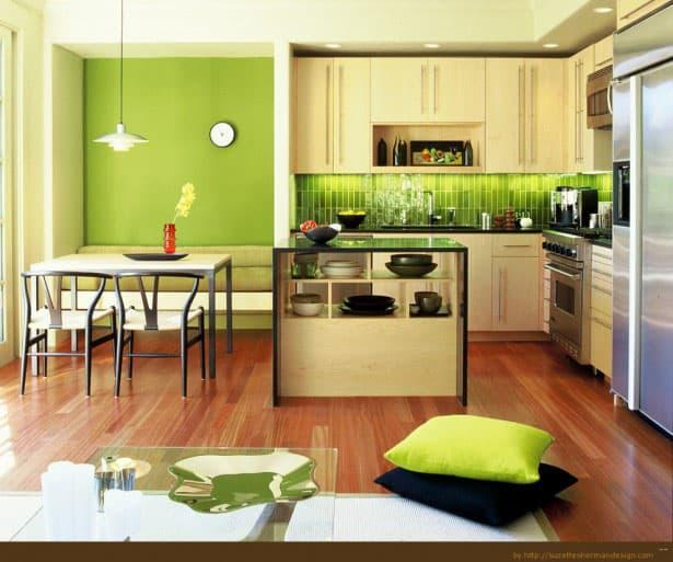 кухонные обои модерн 6