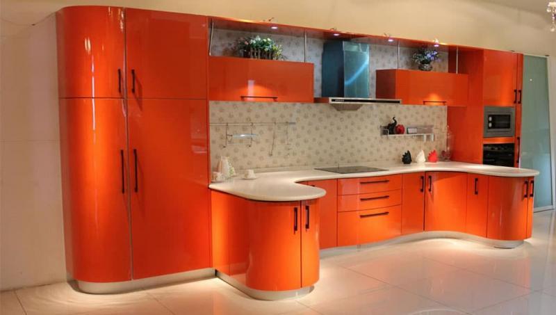кухонные обои оранжевая гамма 1 1
