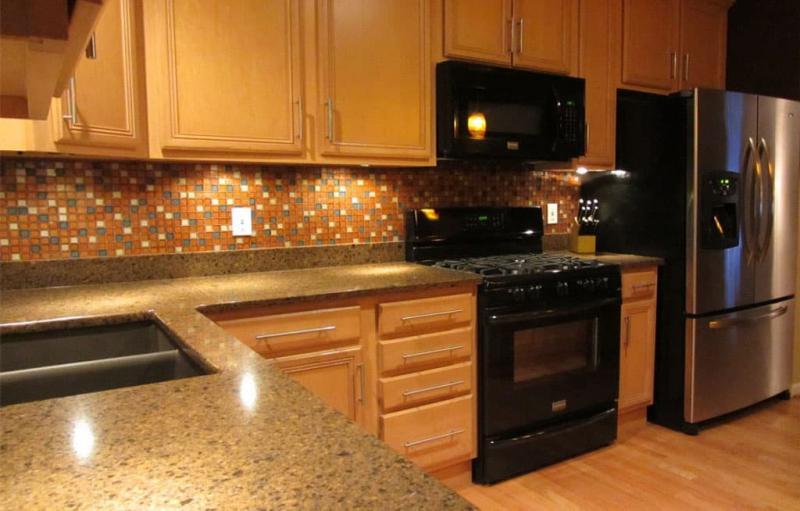 кухонные обои оранжевая гамма 7 1