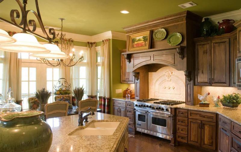 кухонные обои прованс 11