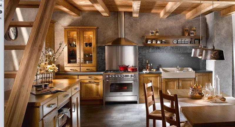 кухонные обои прованс 12
