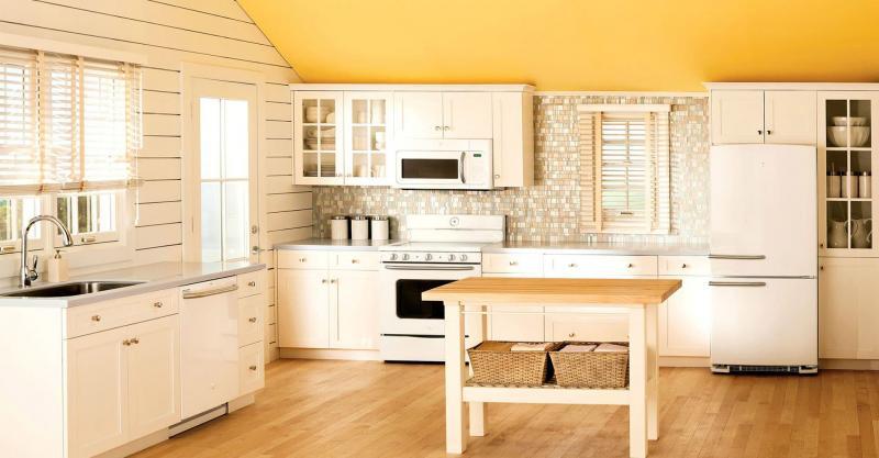 кухонные обои прованс 17
