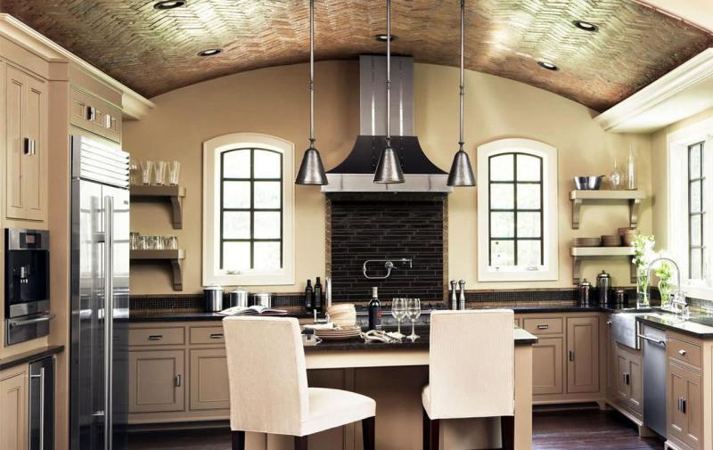 кухонные обои прованс 6