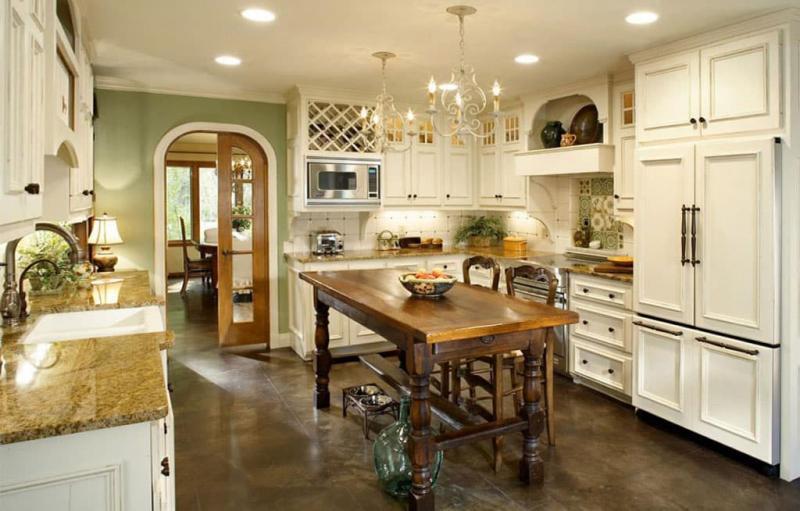 кухонные обои прованс 7 1