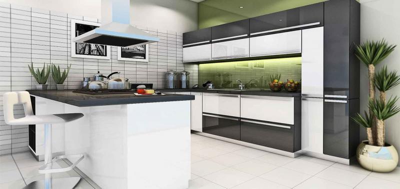 кухонные обои серая гамма 5