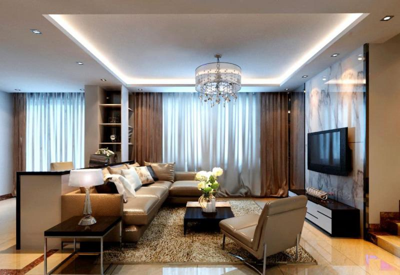 Шторы для гостиной в классическом стиле 2