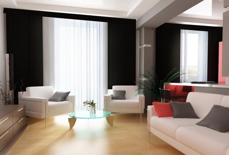 Шторы для гостиной в современном стиле 7