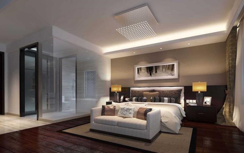 Дизайн потолка из гипсокартона 1