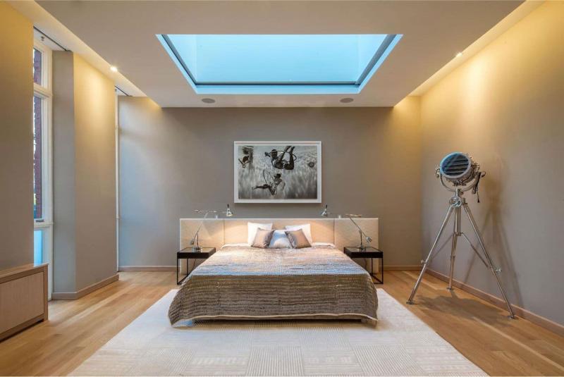 Потолок из гипсокатона для спальни 12-14 м 6