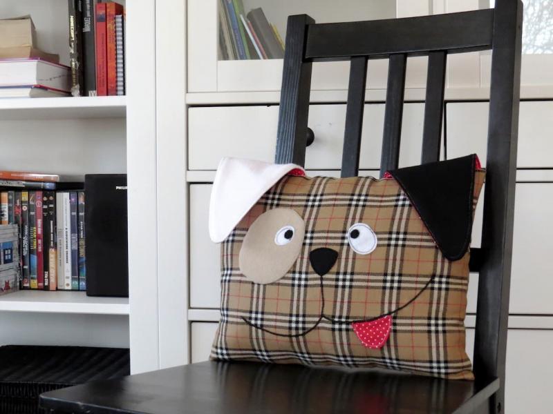 Декоративная подушка Пёс