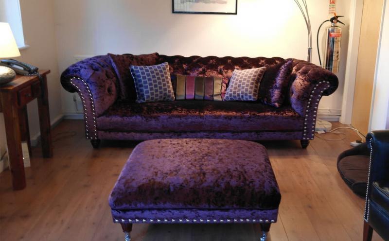 Бархатная обивка мебели 2018 6