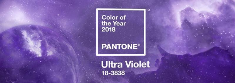 Главный цвет 2018 года Ultra Violet