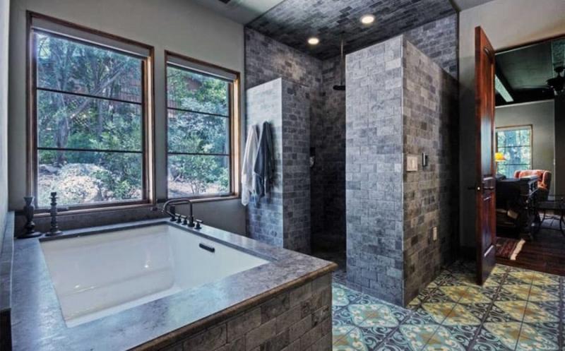 Модная ванная комната 2018 4