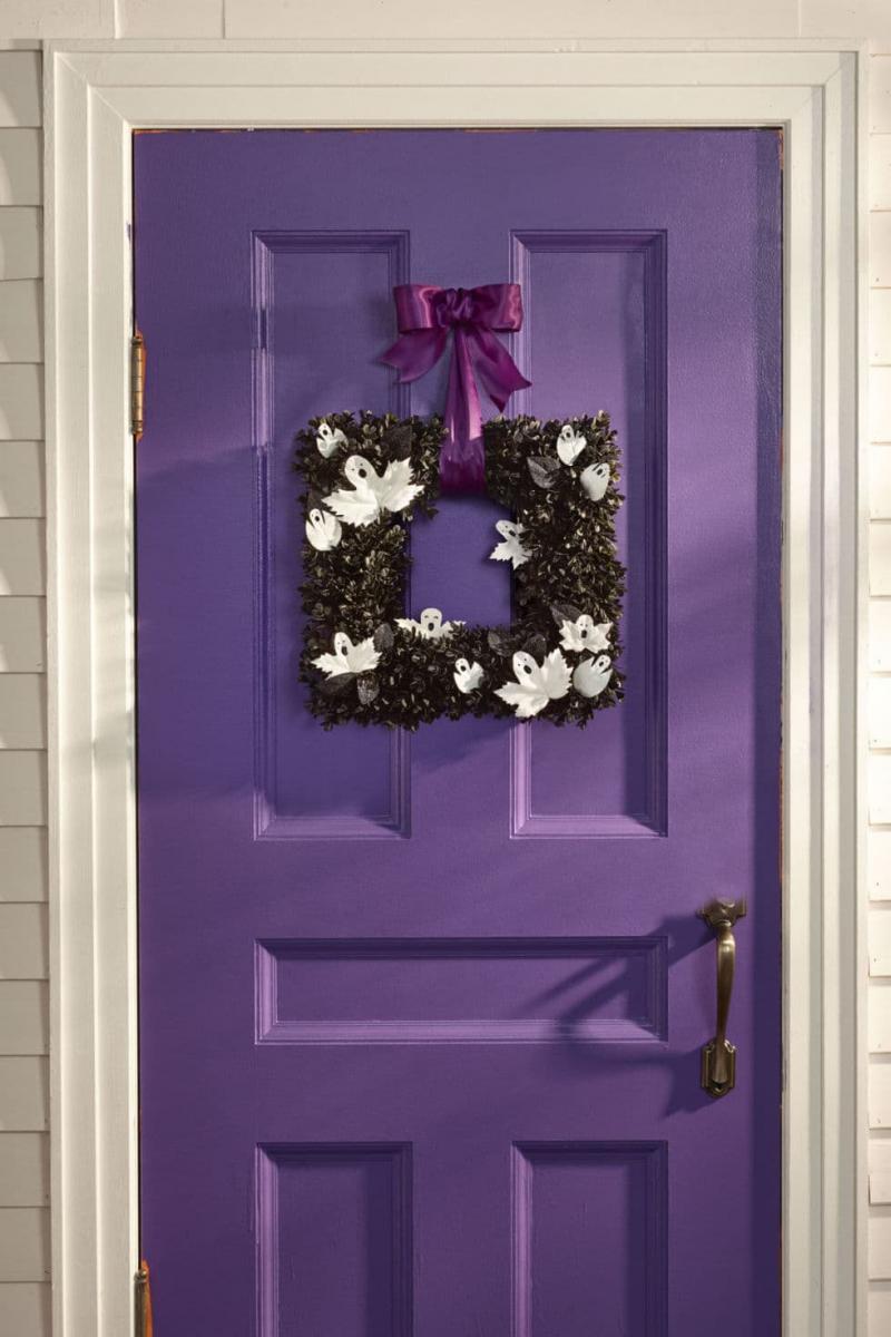 Двери фиолетового цвета 6