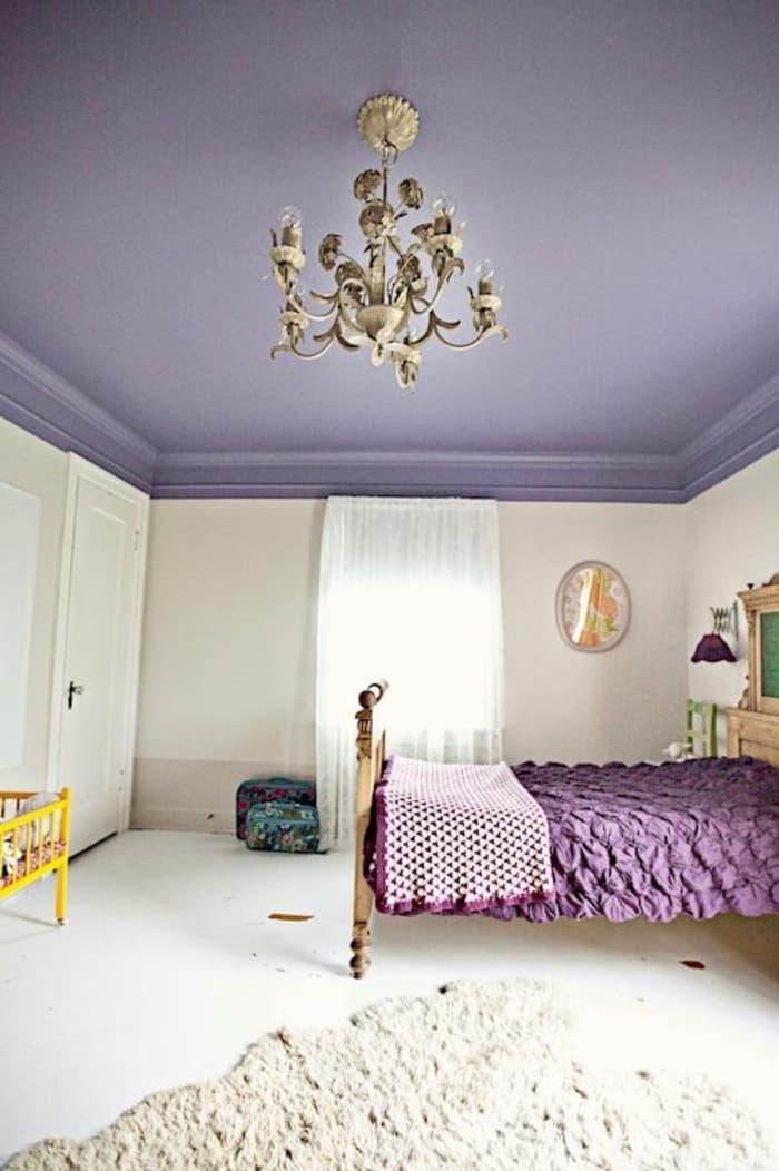 Фиолетовый потолок 2