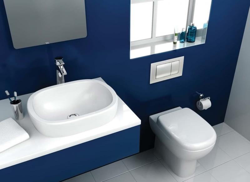 Оттенок Klein blue в интерьере 6