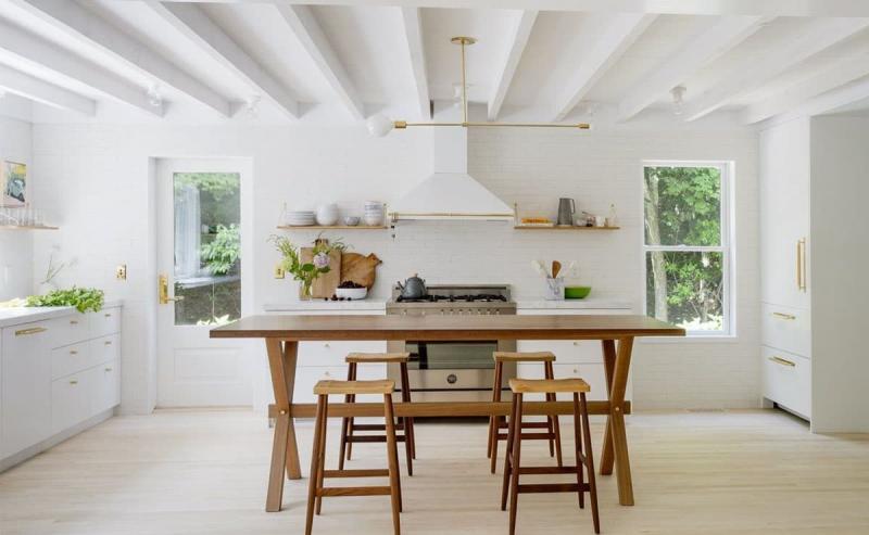 П-планировка кухни 2018 9