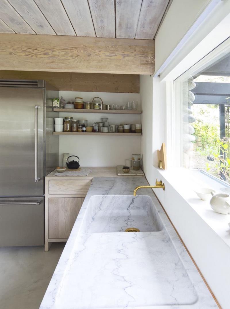 Встроенная раковина для посуды 1