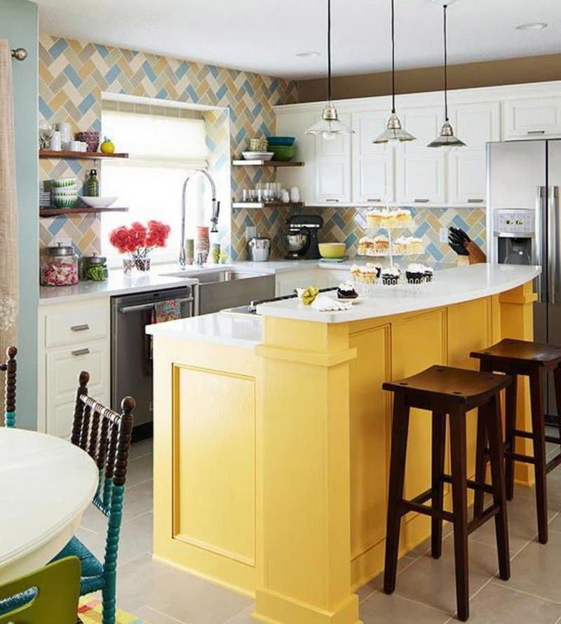 Яркая кухня 3