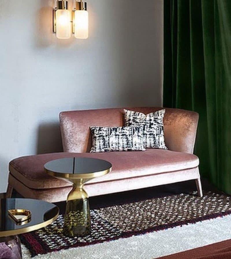 Бархатная обивка мебели 2
