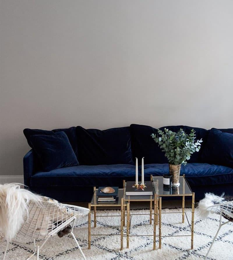 Бархатная обивка мебели 3