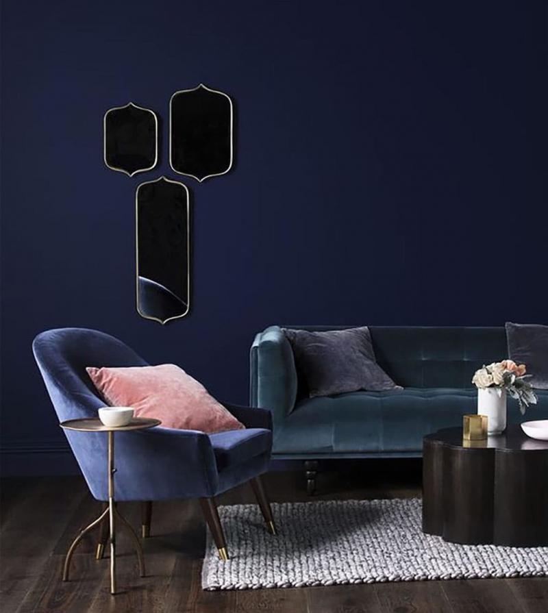Бархатная обивка мебели 5