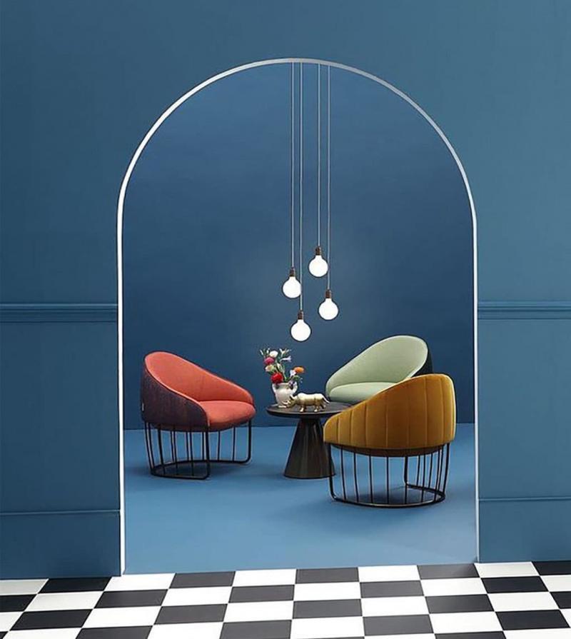 Бархатная обивка мебели 6