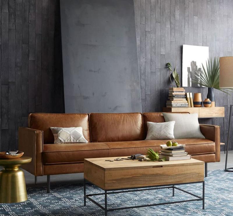 Кожаная обивка мебели 4
