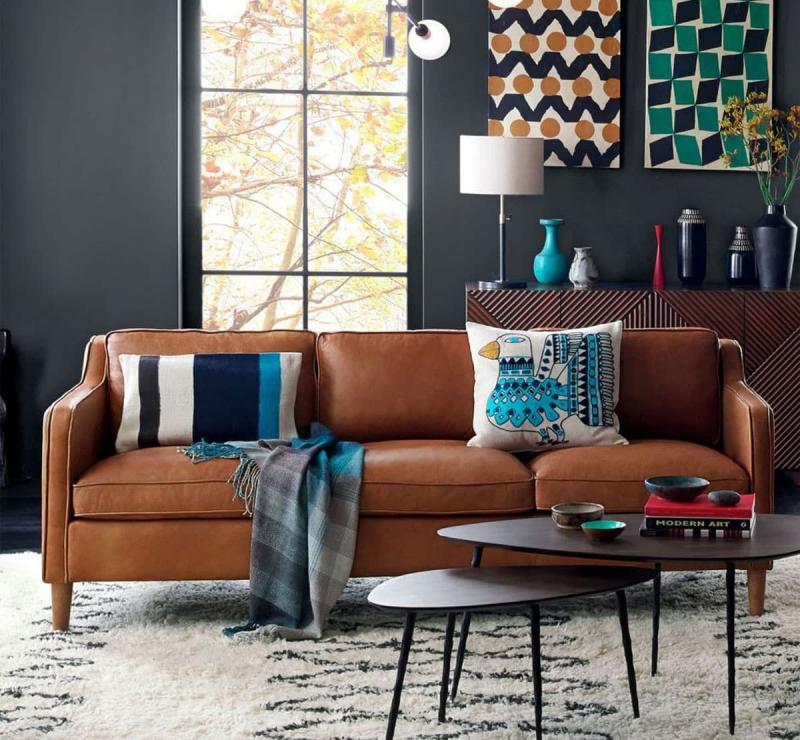 Кожаная обивка мебели 5